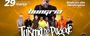 Turma do Pagode + Hungria Hip-Hop Ao Vivo Em Pirac