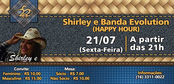 Happy Hour - Clube 22 de Agosto