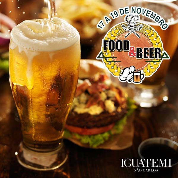 Food e Beer - Shopping Iguatemi São Carlos, Ibaté-SP