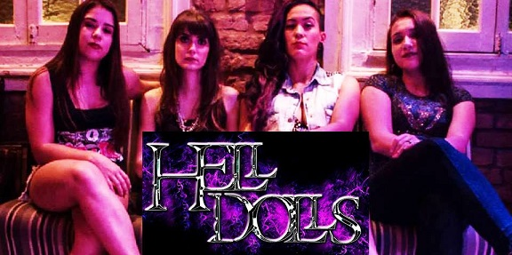 HELL DOLLS  - CORLEONE MUSIC HALL, Araraquara-SP