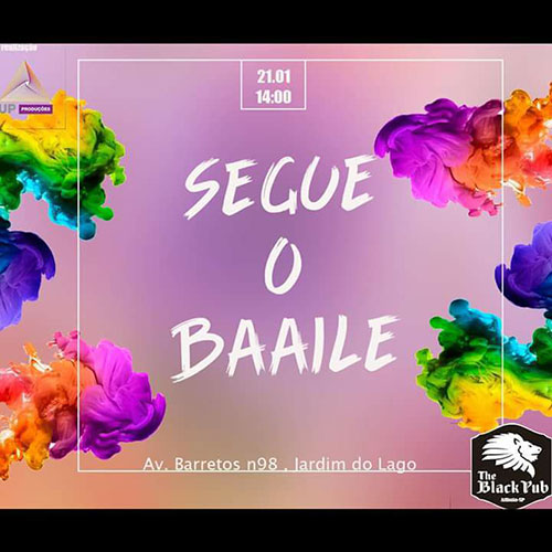 Segue o Baile - The Black Pub, Atibaia-SP