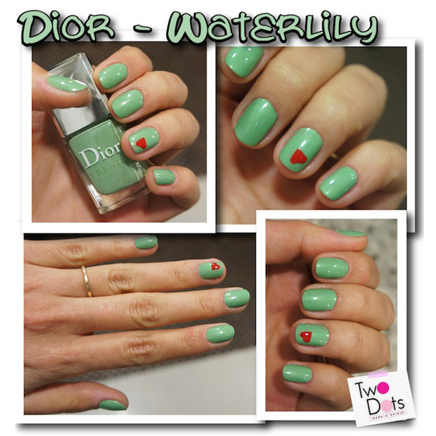 Dior, e a cor é Waterlily