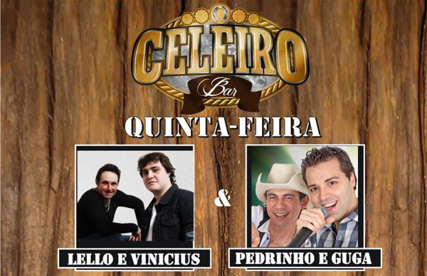 Pedrinho & Guga animam o sertanejo do Celeiro - Celeiro Bar, Campinas-SP