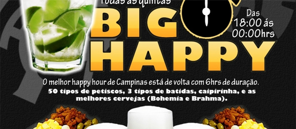Big Happy Hour no Tróia