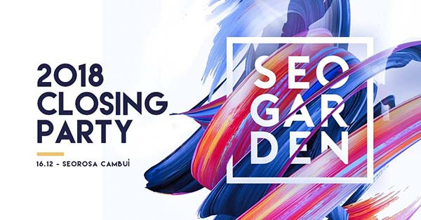 SeoGarden | 2018 Closing Party com Amon Lima - Seo Rosa, Campinas-SP