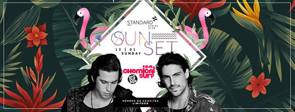 Standard Sunset 13/01 *Chemical Surf* - Outro Local, Campinas-SP