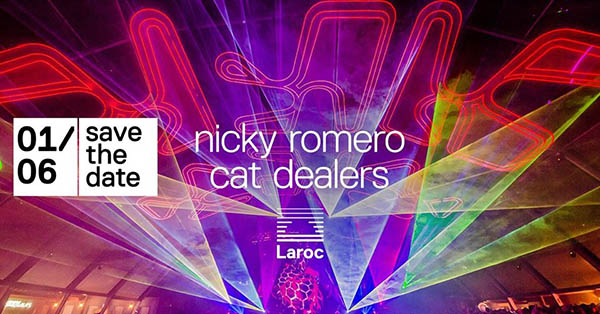 Sábado na Laroc Nicky Romero + Cat Dealers - Laroc Club, Valinhos-SP