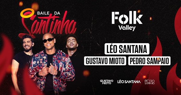 Baile da Santinha na Folk Valley