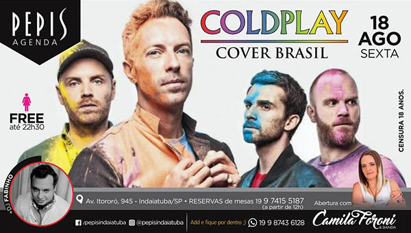 Sexta Cover - PEPIS PIZZA BAR, Indaiatuba-SP