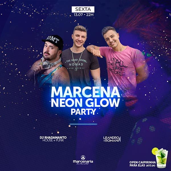 Marcena Neon Glow Party - A Marcenaria, Piracicaba-SP