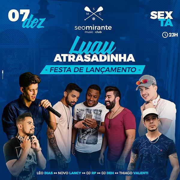 Sexta no Seo Mirante - Seo Mirante Music Club, Piracicaba-SP