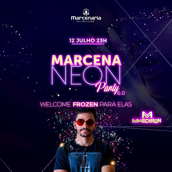 Marcena NEON party 6.0 - A Marcenaria, Piracicaba-SP