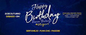 Happy Birthday Renan Barboza