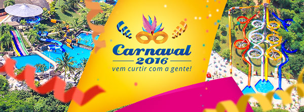 Canaval 2016 no Thermas Water Park