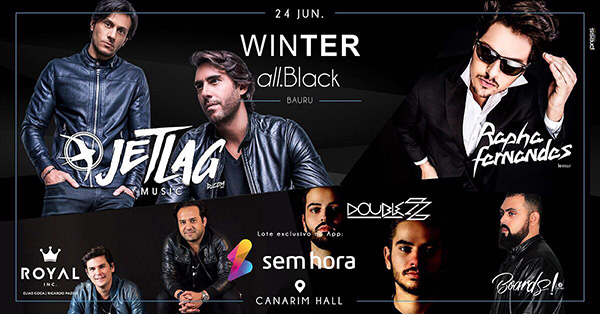 Winter All.Black - Canarim Hall, Bauru-SP