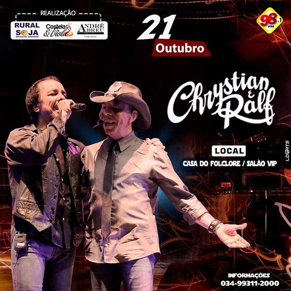 Chrystian e Ralf - Casa do Folclore, Uberaba-MG