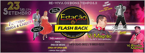 Estação Flash Back  - Apache, Uberaba-MG